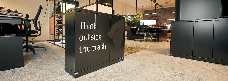 Indoor afvalsystemen voor diverse omgevingen