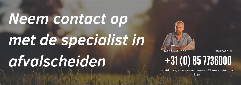 Neem contact op met specialist