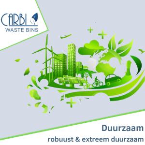 Duurzame afvalsystemen van Carbi