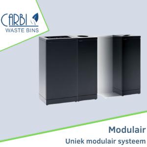 Unieke modulaire afvalsystemen