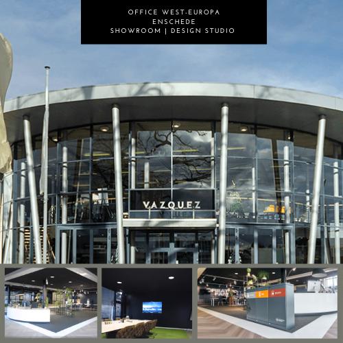 Kantoor en showroom in Enschede