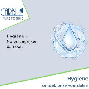 Hygiënische afvalsystemen van Carbi