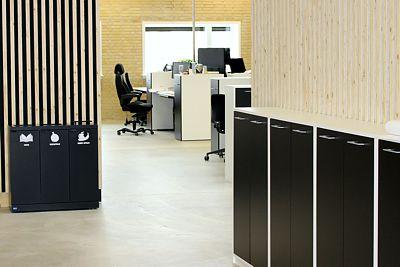 Kildesortering i kontormiljø