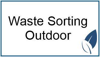 waste sorting outdoor