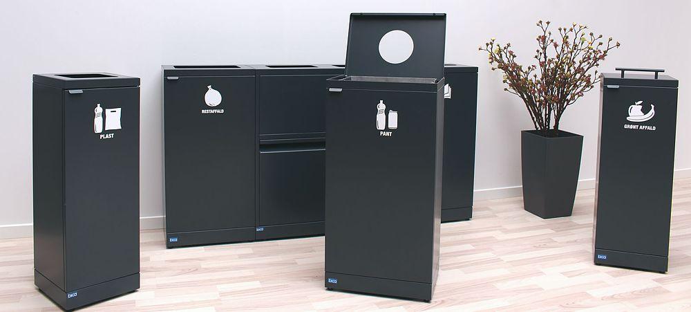Kæmpe udvalg af affaldsbeholdere. Ring for råd og vejledning